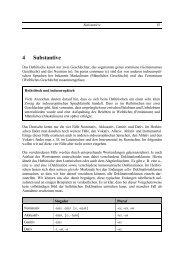 4 Substantive - G. Heinrichs´ Homepage