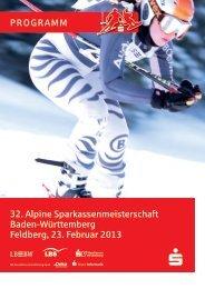 32. Alpine Sparkassenmeisterschaft Baden ... - Asmbw.de