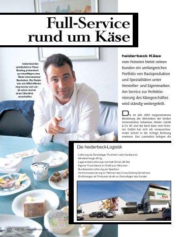 PDF (400 KB) - heiderbeck Käse vom Feinsten GmbH