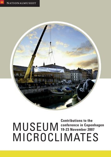 Contributions to the conference in Copenhagen 19-23 November ...