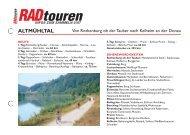 PDF downloaden - Radtouren Magazin