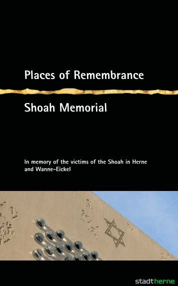 Places of Remembrance Shoah Memorial