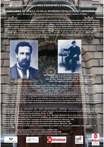 Poster Adan de Yarza - Universidad del País Vasco