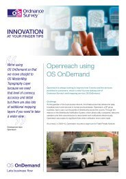 Openreach using OS OnDemand - Ordnance Survey