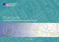 ordnance survey style guide for third parties