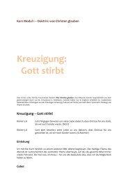 Kreuzigung: Gott stirbt - GZB Blog
