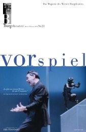 Drucken VORSPIEL_23_LITHO - Burgtheater