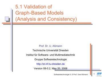 5.1 Validation of Graph-Based Models - Www-st.inf.tu-dresden.de ...