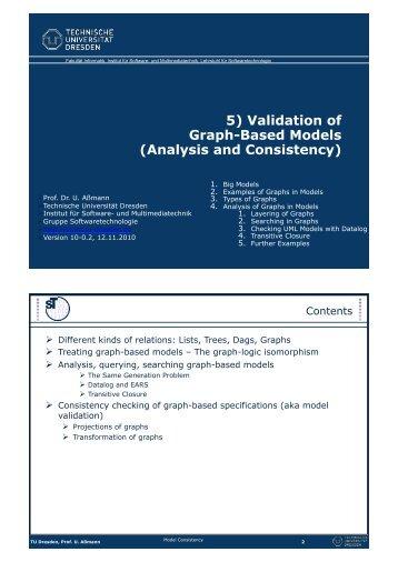 Analysis and Consistency - Www-st.inf.tu-dresden.de - Technische ...