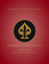 Adamus® Saint-Germain Adamus® Saint-Germain - Crimson Circle