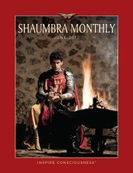 Shaumbra Monthly June 2012 - Crimson Circle