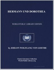HERMANN UND DOROTHEA - World eBook Library