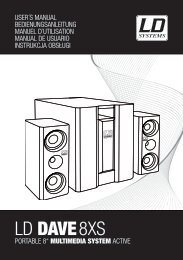 LD DAVE8XS - LD Systems