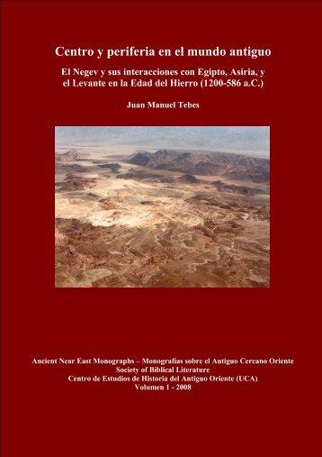 Centro y periferia en el mundo antiguo - Society of Biblical Literature
