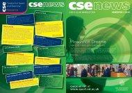 cse's club newsletter - University of Edinburgh