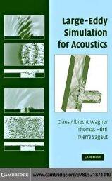 Large-Eddy Simulation for Acoustics