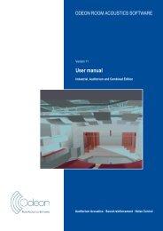 ODEON Room Acoustics Program