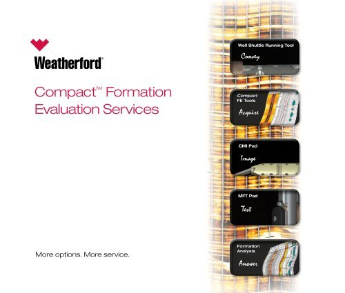 Compact™ Formation Evaluation Services - Weatherford International
