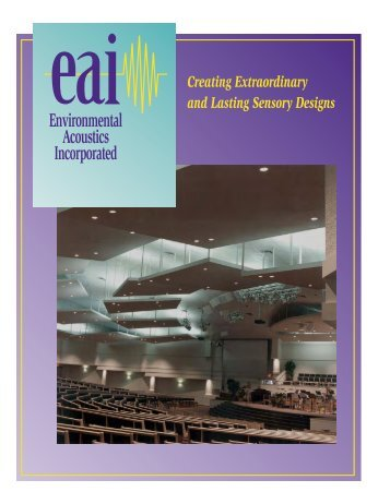 Environmental Acoustics Inc. Brochure