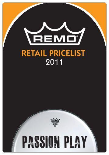 Remo Pricelist 2011.indd