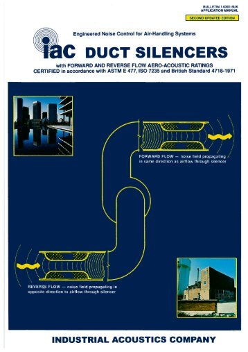 Duct Silencer Catalogue - Industrial Acoustics Company