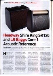 Acoustic Magazine - Headway Music Audio