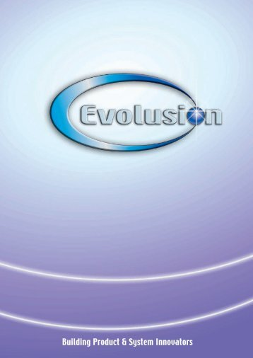 Building Product & System Innovators - Evolusion Innovators