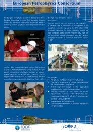 European Petrophysics Consortium - ECORD