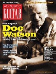 Acoustic Guitar, June 2003 - Berkowitz Guitars
