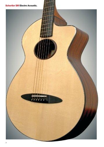 Schertler SM Electro Acoustic. - schertler guitars