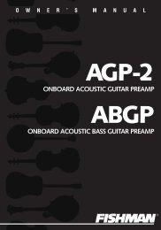 Fishman AGP-2 - Guild® Guitars
