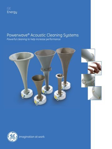 Powerwave® Acoustic Cleaning Systems - GE Energy