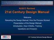 21st Century Design Manual - Schools Development Authority
