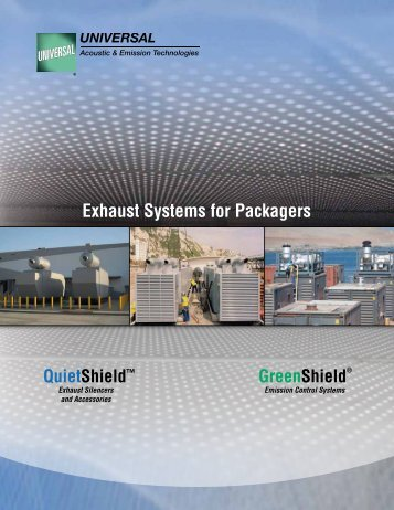 Exhaust Systems for Packagers GreenShield - Universal