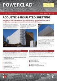 Powerclad Acoustic Sheeting - Industrial Textiles and Plastics Ltd