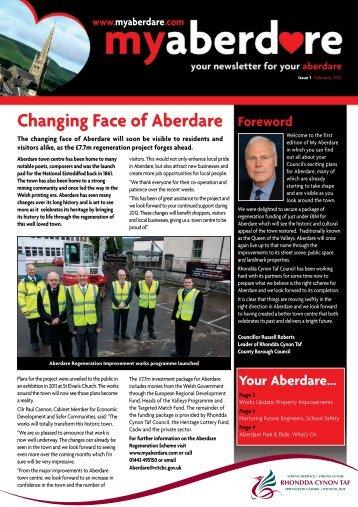 My Aberdare Newsletter February 2012 - Rhondda Cynon Taf