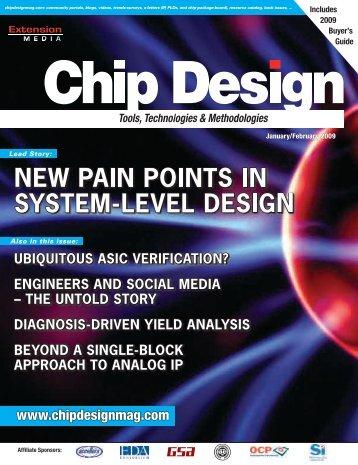 Nuremberg, Germany March 3–5, 2009 - Chip Design