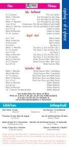 July-September Gorffennaf-Medi - Ucheldre Centre - Page 3