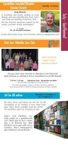 July-September Gorffennaf-Medi - Ucheldre Centre - Page 7