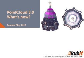 PointCloud 8.0 What's new? - download - Kubit GmbH