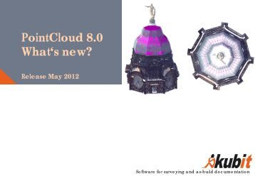PointCloud 8.0 What's new? - download - Kubit GmbH
