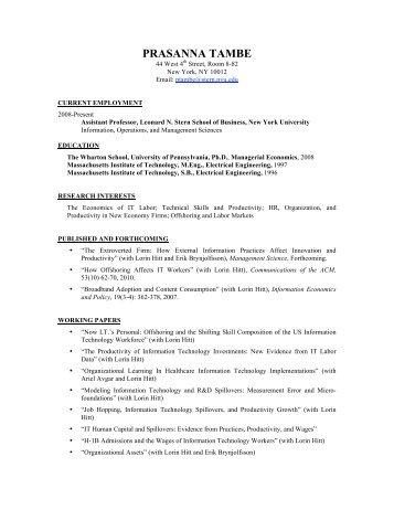 Generic Resume Template  Generic Resume Template