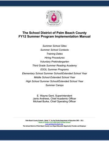 The Importance of Summer Reading - The School District of ...