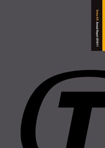 Terma A/S Annual Report 2010/11