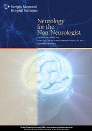 Neurology for the Non-Neurologist y rologist - Scripps Health