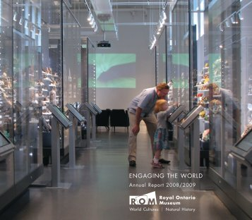 ROM Annual Report 2008-2009 - Royal Ontario Museum