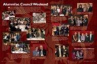 Alumni/ae Council Weekend - Phillips Exeter Academy