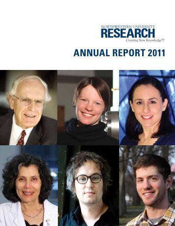 annual report 2011 - Office for Research - Northwestern University