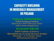 Smakowski Galos PGI PAN present.pdf - EuroGeoSurveys