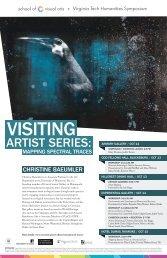 Visiting - School of Visual Arts - Virginia Tech